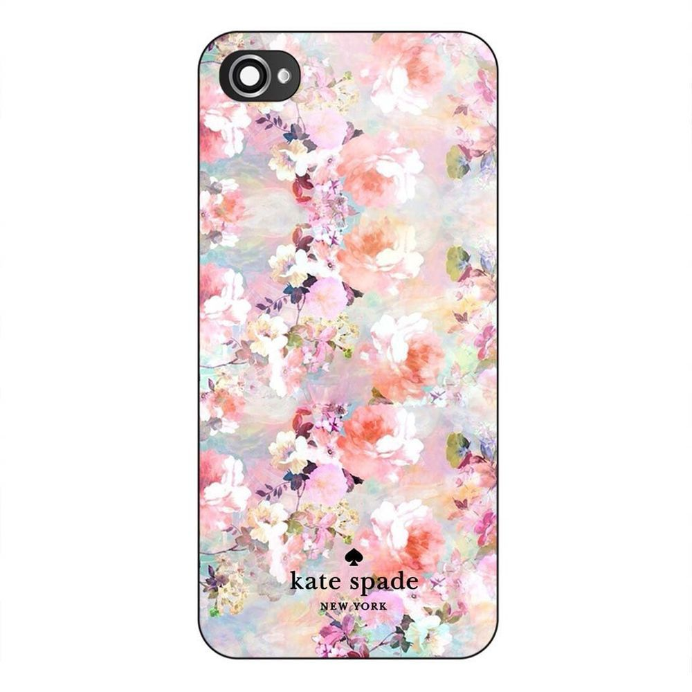 New kate spade painting floral custom flower hard case for