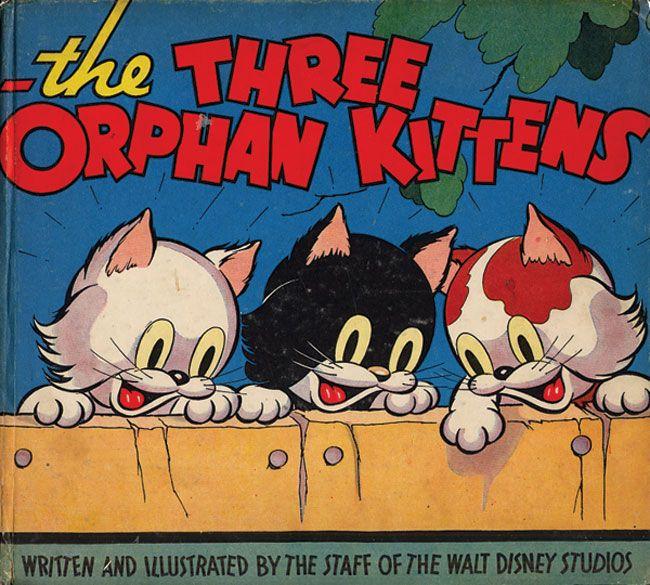 Los 3 gatitos Huérfanos. Año 1935