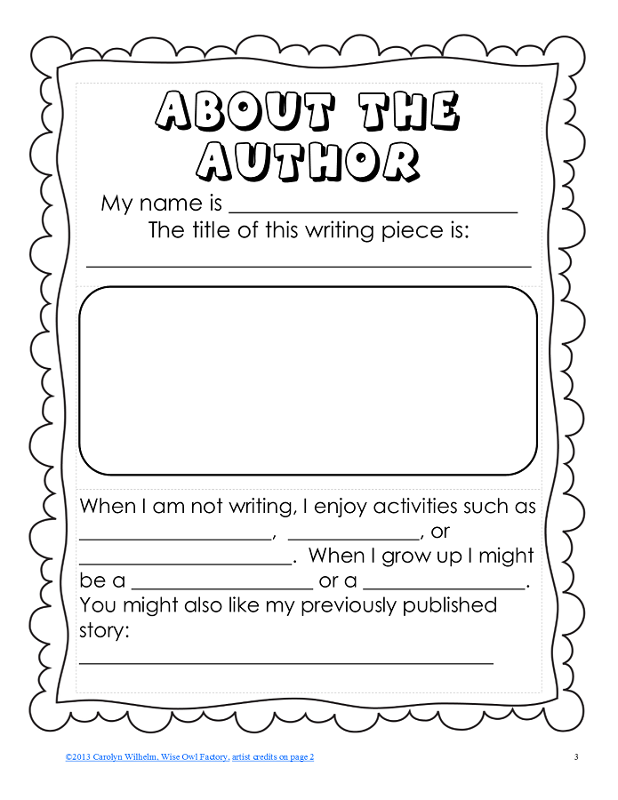 Pin By Mary Lynn Hanley On First Grade Writing Writing Author