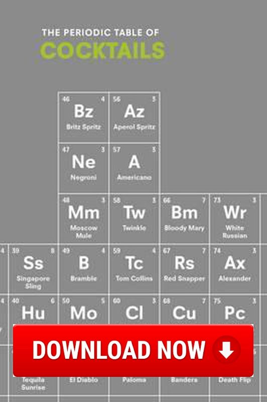 The periodic table of cocktails read online download ebook for the periodic table of cocktails read online download ebook for free pdf urtaz Gallery