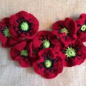 Poppy Flower - via @Craftsy