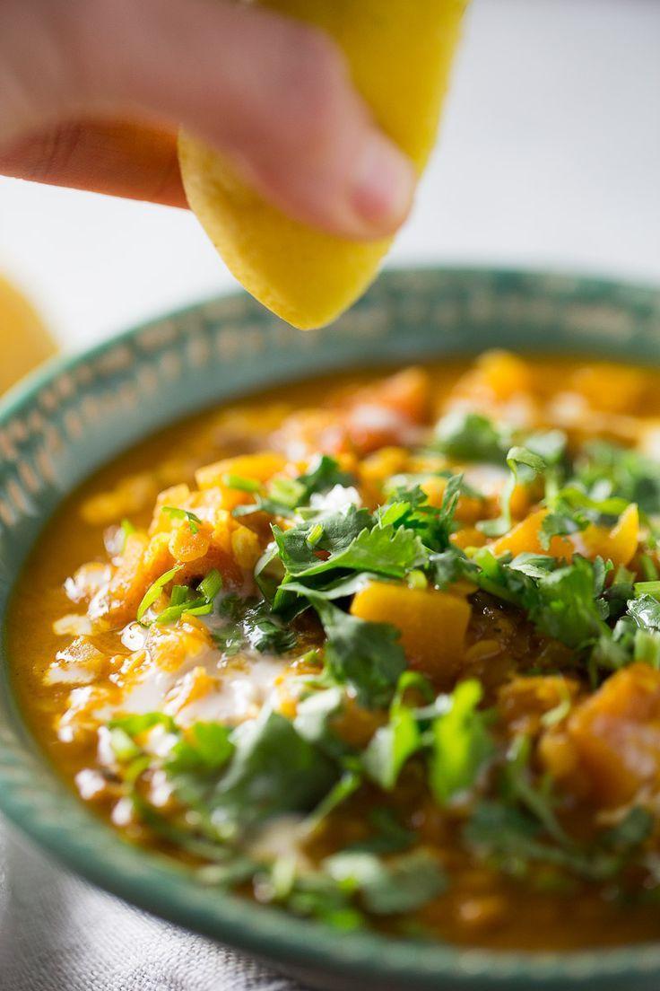 Cocinar Y Congelar | Esta Sopa De Lentejas Rojas Con Curry Tomate Leche De Coco Y