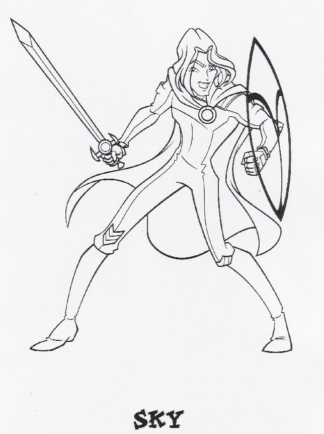 coloring page WinX Club - WinX Club … | Pinterest