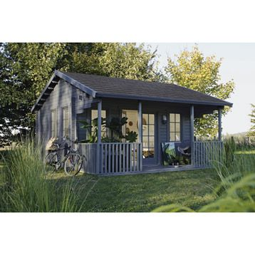 abri de jardin en bois samara m leroy merlin. Black Bedroom Furniture Sets. Home Design Ideas