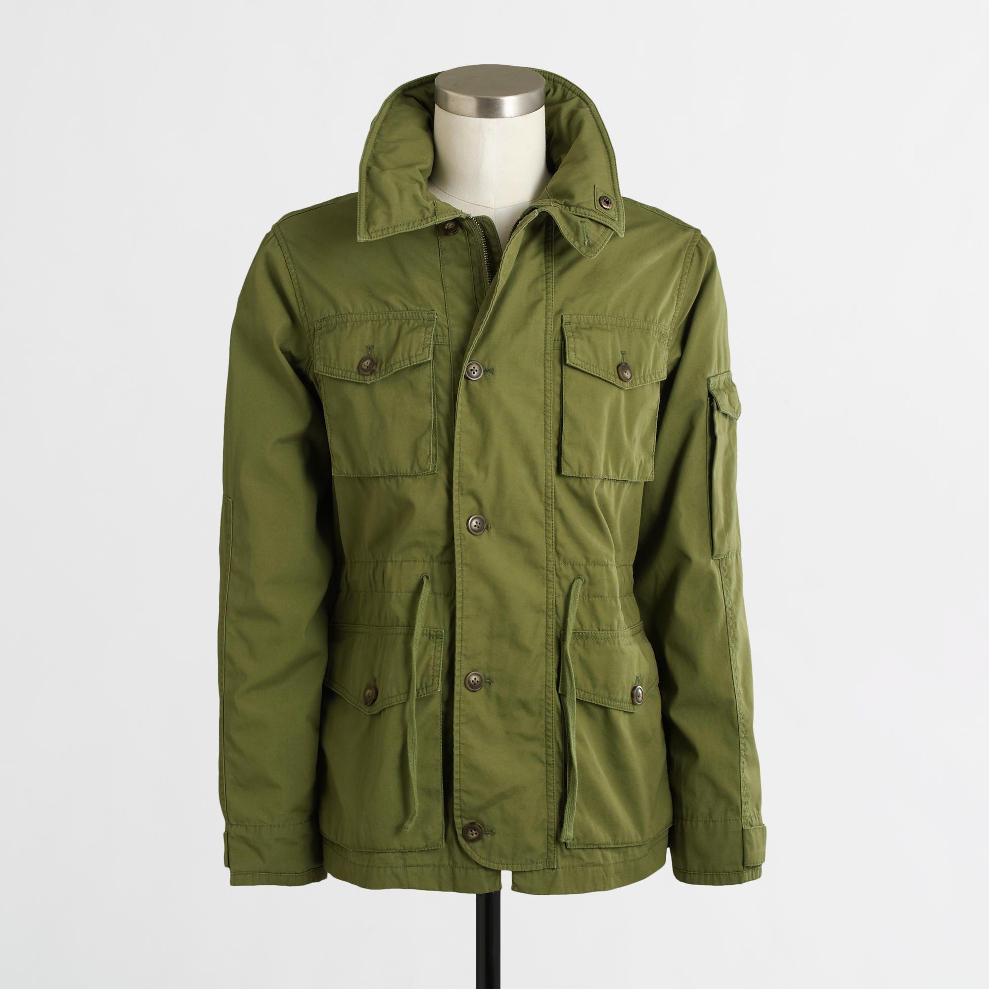 Factory Utility Jacket Mens Jackets Mens Zip Up Jackets Mens Outfits [ 2000 x 2000 Pixel ]