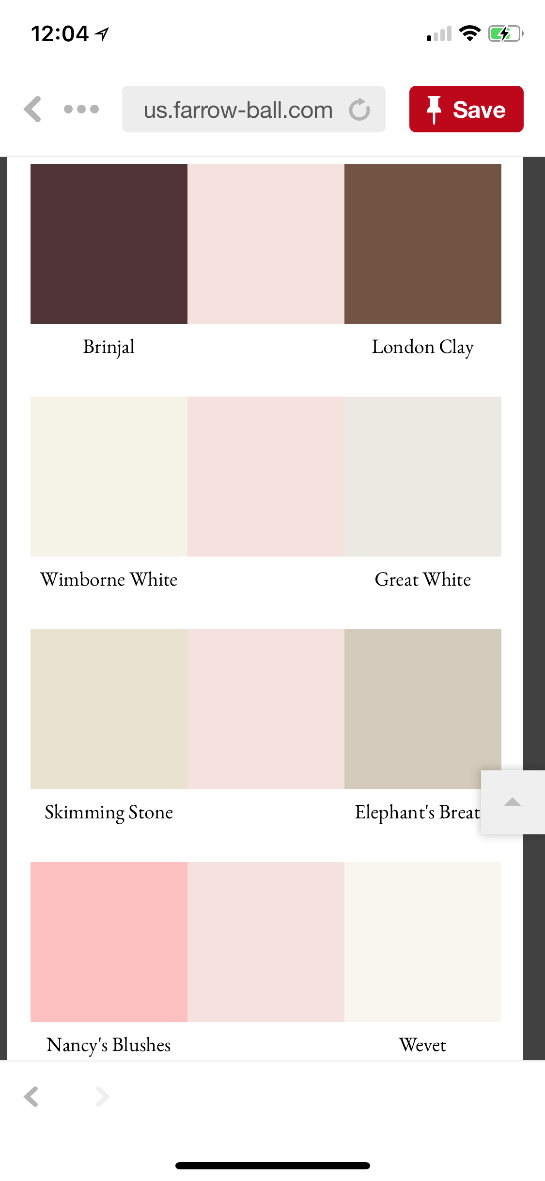 Best Color Schemes Feat Farrow And Ball's Calamine Girls 400 x 300