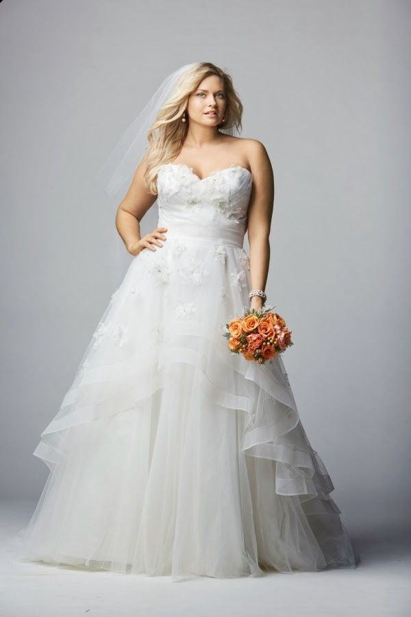 ap loves: plus size wedding dresses from wtoo curves | my dream