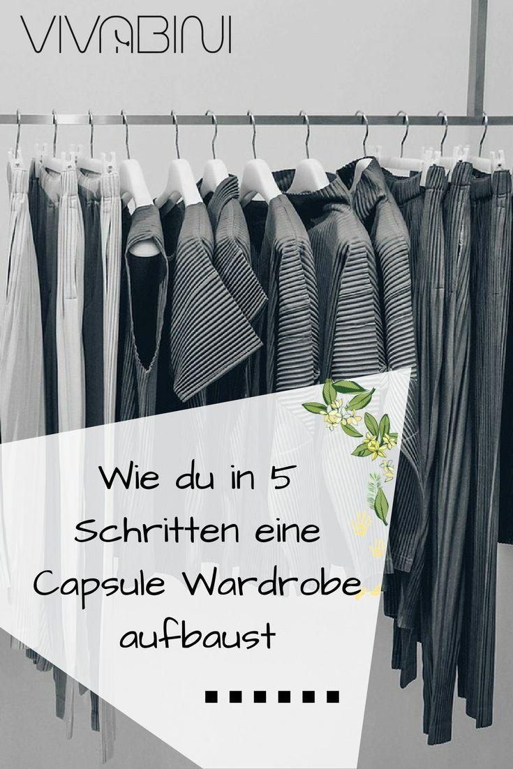Capsule Wardrobe Anleitung