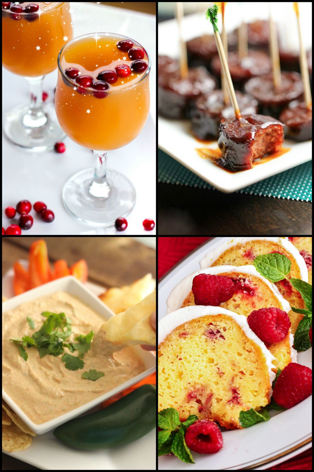 Recipes for New Years Eve Parties