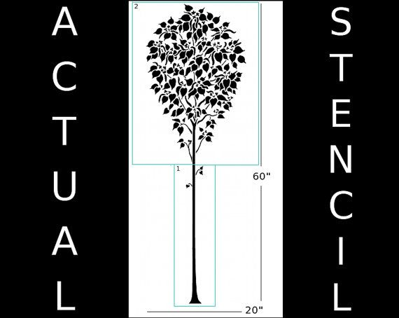 Ce Joli Petit Arbre Tilleul Est Parfait Pour Une Chambre D Enfant Ou Un Escalier En Colimacon Tous Les Dessins De Grand Ar Stencils Wall Tree Stencil Stencils