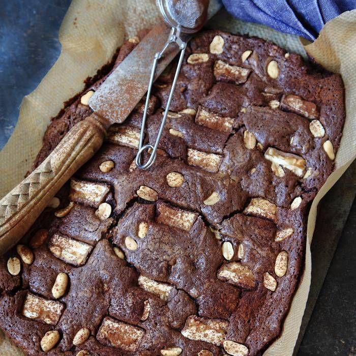 brownie tårtbotten recept