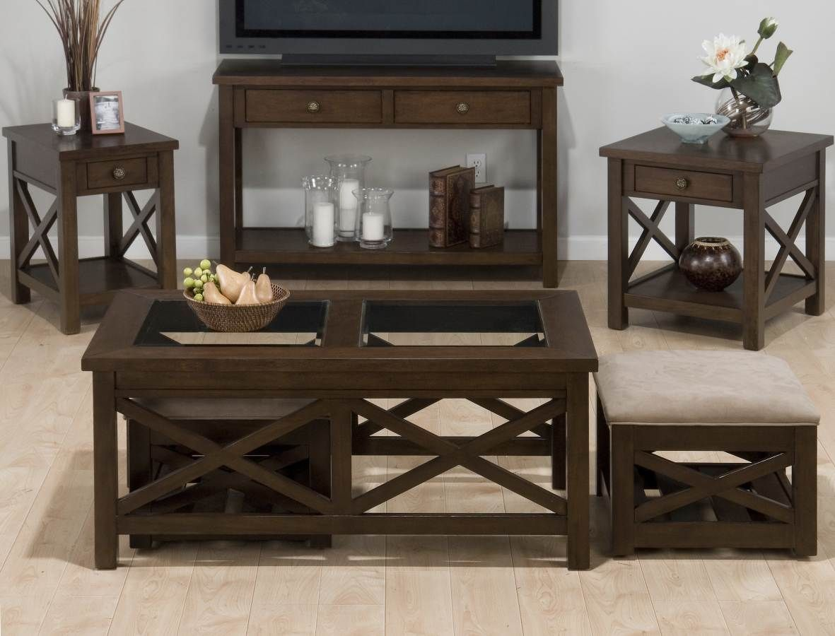 Jofran Xavier Birch Cocktail Table 2 Castered Nesting Ottomans Coffee Table Coffee Table And Side Table Set Transitional Coffee Tables [ 900 x 1181 Pixel ]
