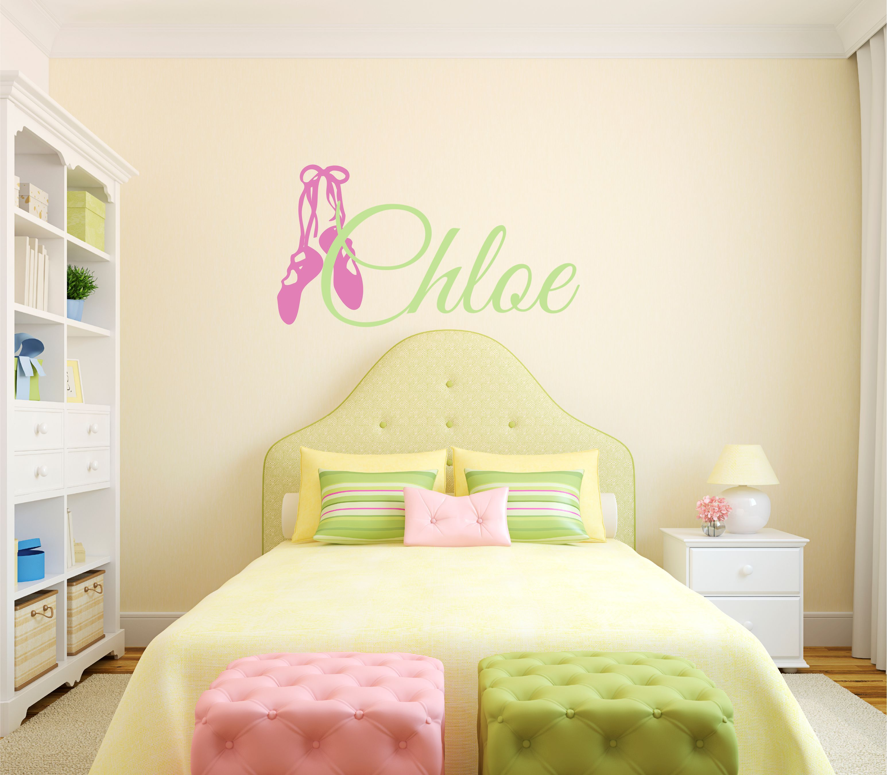 Personalized Dance Wall Decal available at my Etsy shop: https://www ...