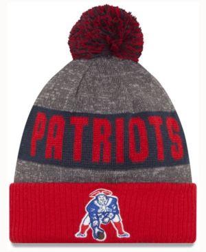 a9fdd96eb91 New Era New England Patriots Classic Sport Knit - Gray Adjustable ...