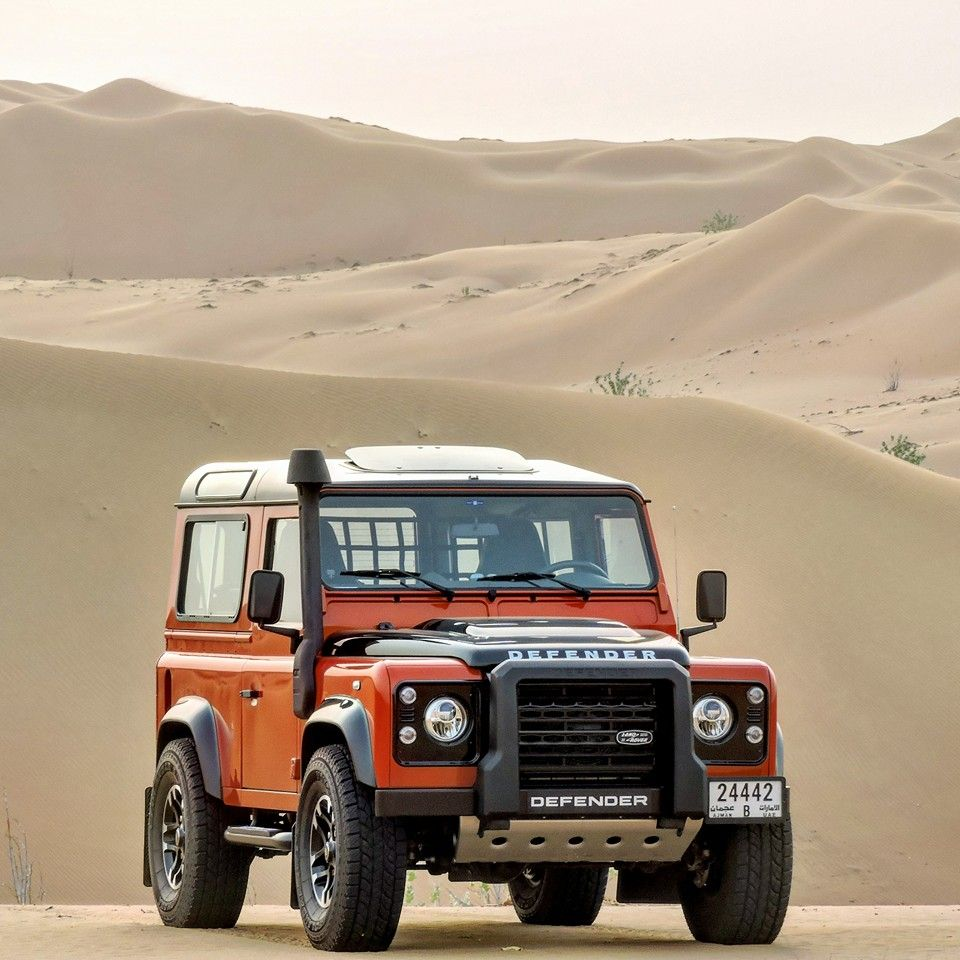 Land Rover Defender 90 Td4 Sw Se Adventure Edition Desert