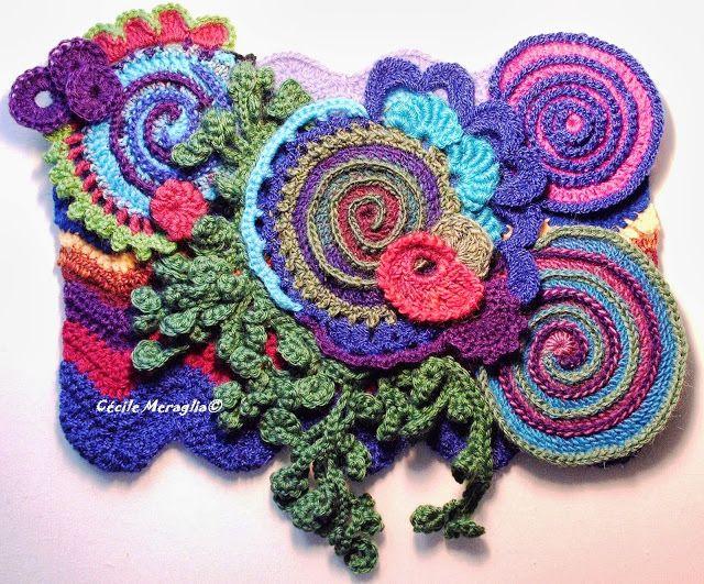 Adventures Textiles Free form | crochet | Pinterest | Punto de ...
