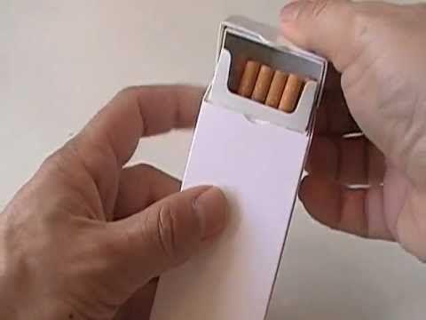 OWN-BOX étui breveté récupérateur de mégots pour paquet de cigarettes - YouTube