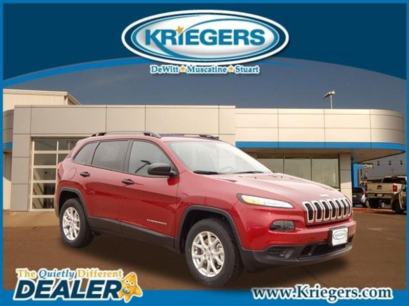 New 2016 Jeep Cherokee Sport for sale in Muscatine