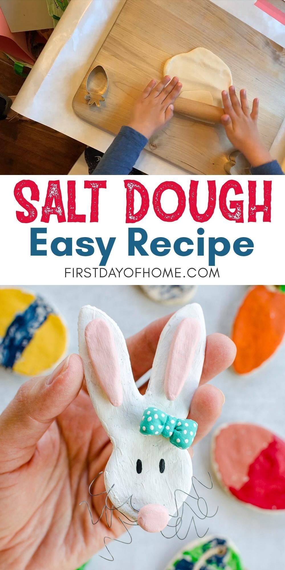 Easiest Salt Dough Recipe Ever!