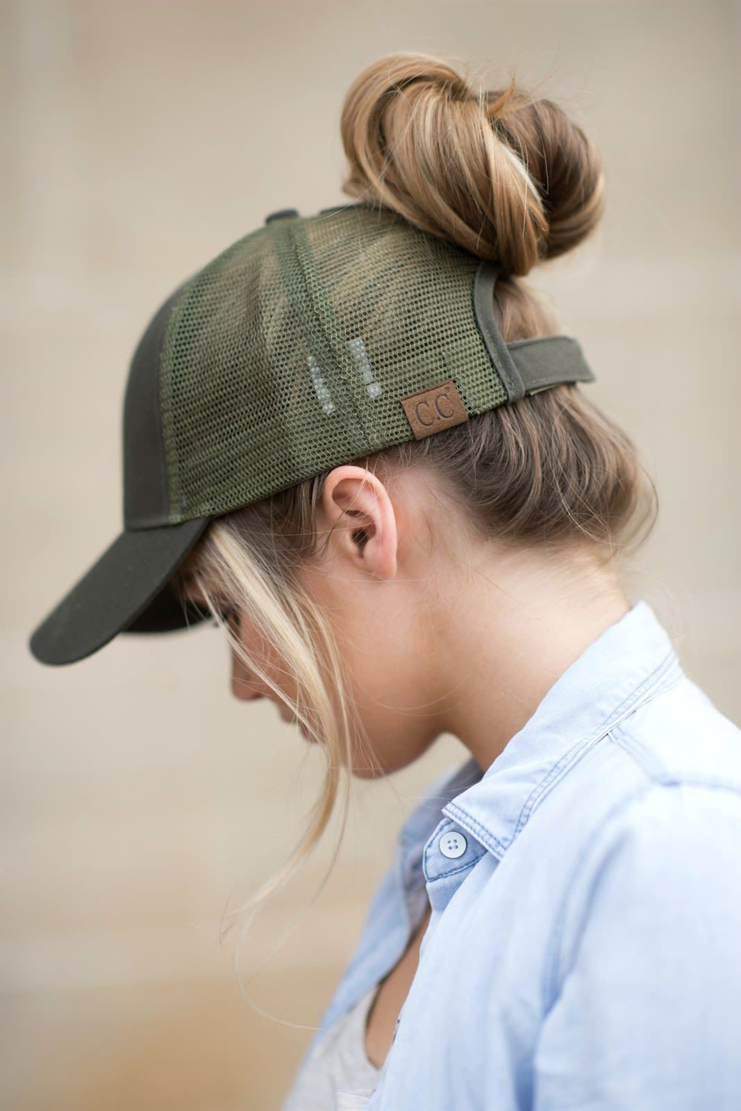 The baseball hat just got a MAJOR upgrade! Don t miss out on our  bestselling C.C brand top knot trucker hats! All the function of a regular  ball cap 7c337a6fbd2