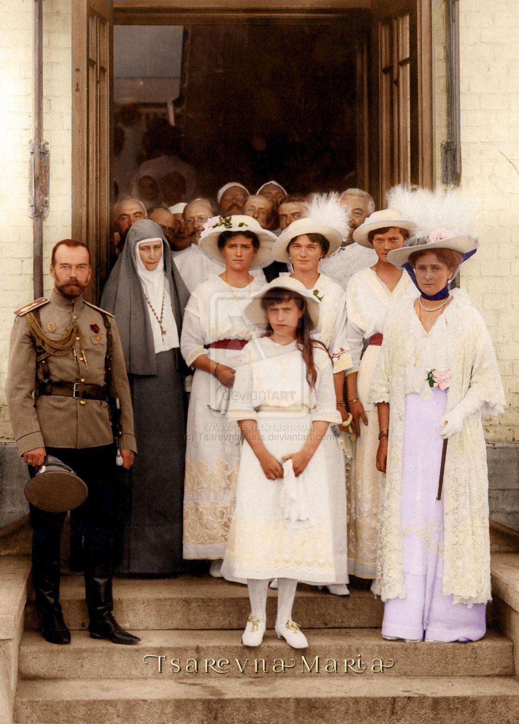 Image result for the romanovs colourised