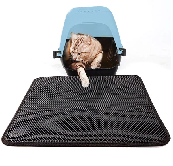 PawTidy Litter Mat by TidyPaws Traps Kitty Litter in