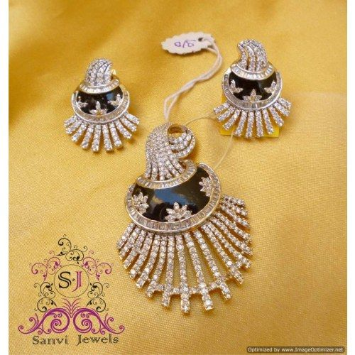 Online shopping for unique american diamond pendant set pendants online shopping for unique american diamond pendant set pendants unique indian products by sanvi aloadofball Gallery