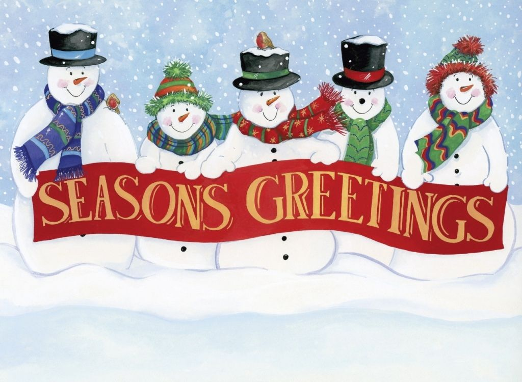 Season's Greetings from Mike Bolger! I would like to take