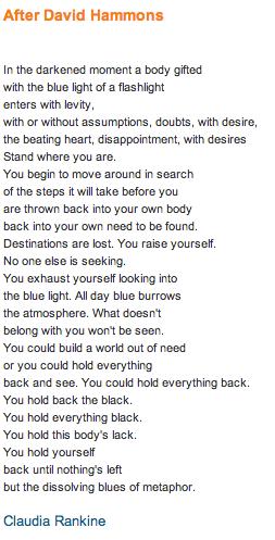 Claudia Rankine Poems 6