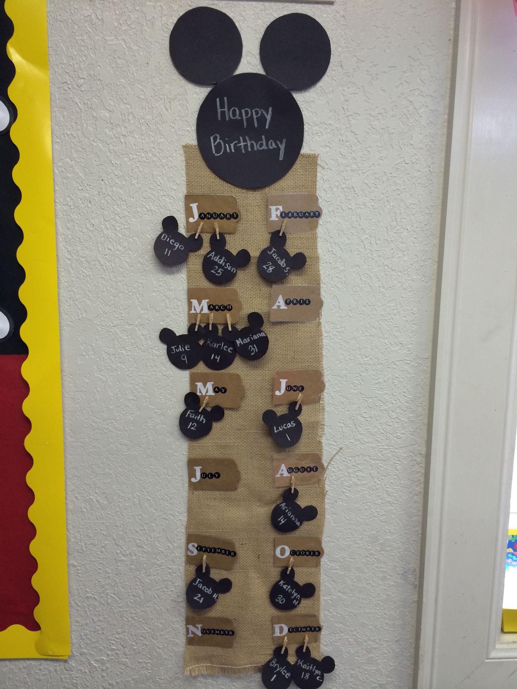 Mickey Classroom Decor ~ Classroom decor mickey mouse theme