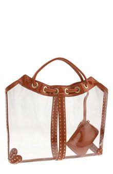 1a949f8b8bf0 Michael Kors plastic bag | Clearly a Handbag | Bags, Michael kors ...