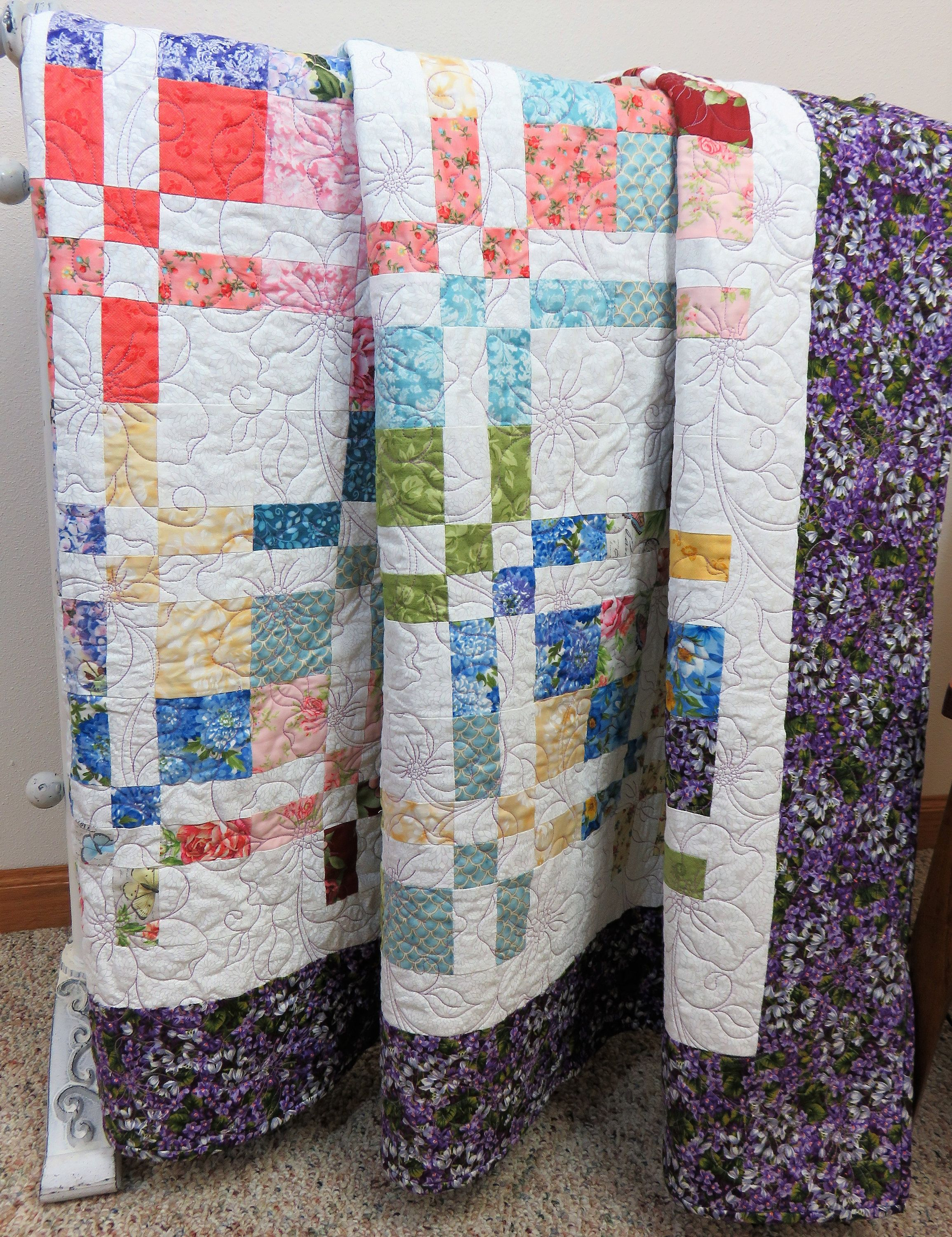 Single Coverlet Handmade Quilt For Sale Large Throw Quilted Blanket Lap Blanket