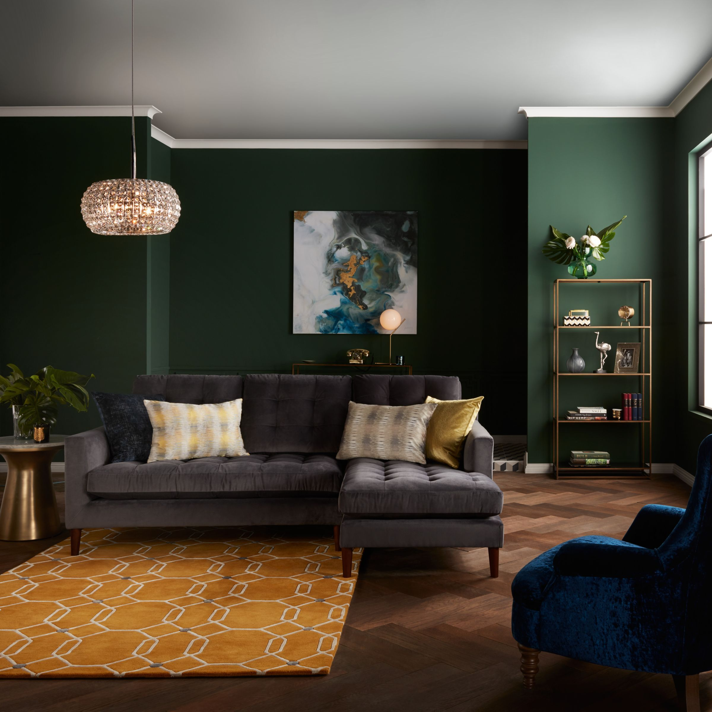 John Lewis Partners Draper Large 3 Seater Sofa Metal Leg Winchester Anthracite Leather Sofa Living Room Sofa Furniture