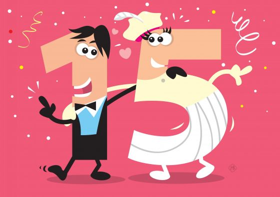 15 jaar getrouwd | andere wensen - 15 jaar