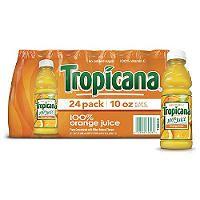 Tropicana 100% Orange Juice (10 oz., 24 pk.) - Sam's Club ...