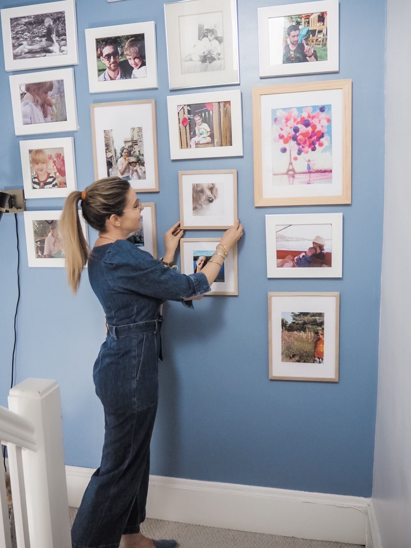 Weekend Makeover With Behr Paint Our Upstairs Wall Of Fame Behr Color Trends Behr Colors Behr Paint Colors [ 1854 x 1391 Pixel ]