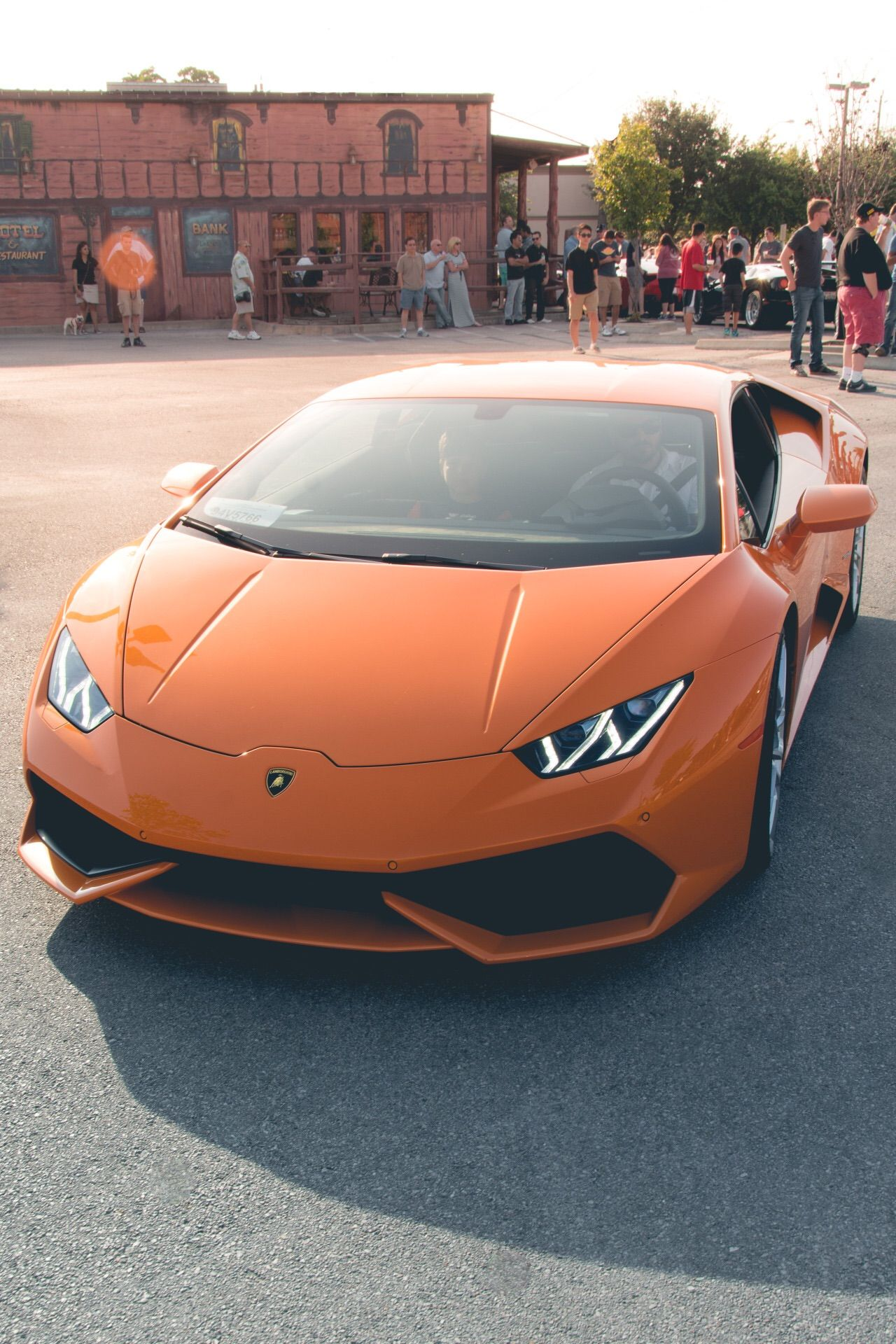 in car lamborghini quarter three insurance huracan a company new performante root motion for launches front