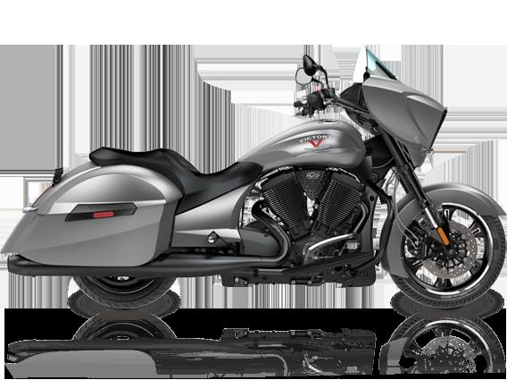 2016 Victory Cross Country Motorcycle Titanium Metallic