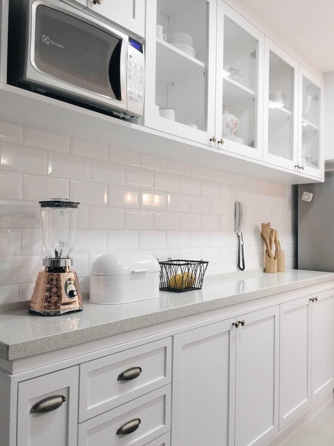 30 Amazing Design Ideas For A Kitchen Backsplash: Scandinavian Kitchen Backsplash