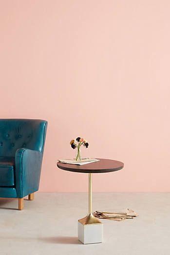 Pendulum Side Table   Casa   Pinterest   Formal living rooms, Mid ...