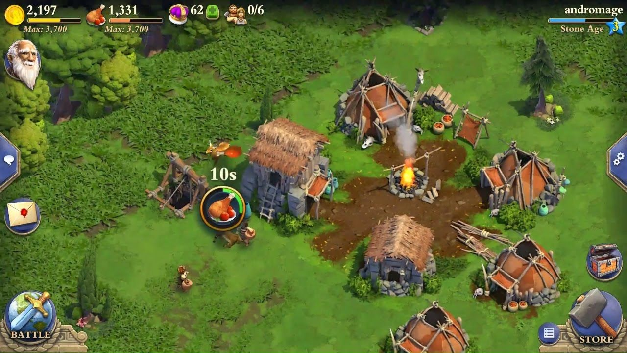 Dominations Best RTS freemium mobile MMO strategy Android