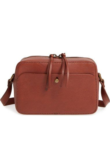 b9d2ab926048 MADEWELL Leather Camera Bag.  madewell  bags  shoulder bags  leather   crossbody  lining