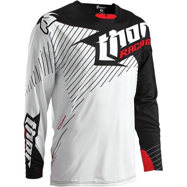Thor Cold Weather Jersey Motocross Olahraga Kaos
