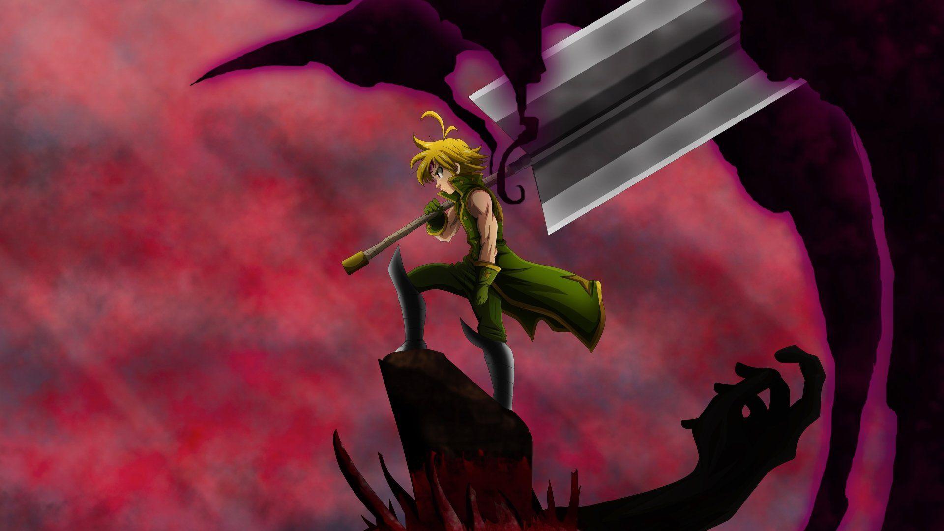 Anime Seven Deadly Sins Meliodas The Seven Deadly Sins Boy Epee