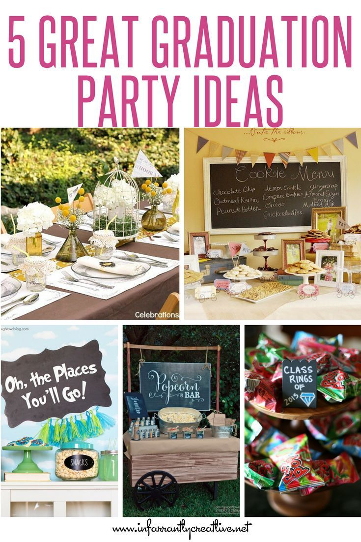 5 great graduation party ideas | holidays, parties and special