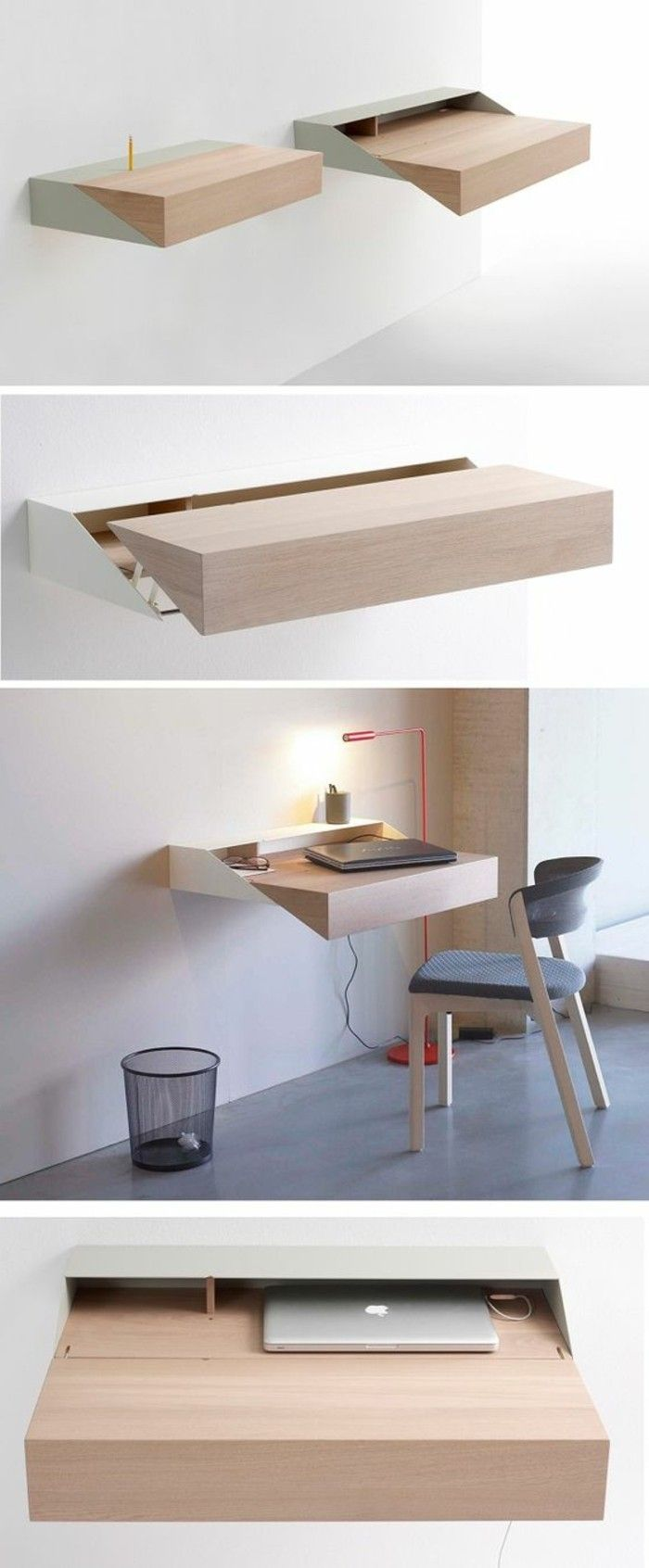 bureau mural rabattable meuble ordinateur conforama plus
