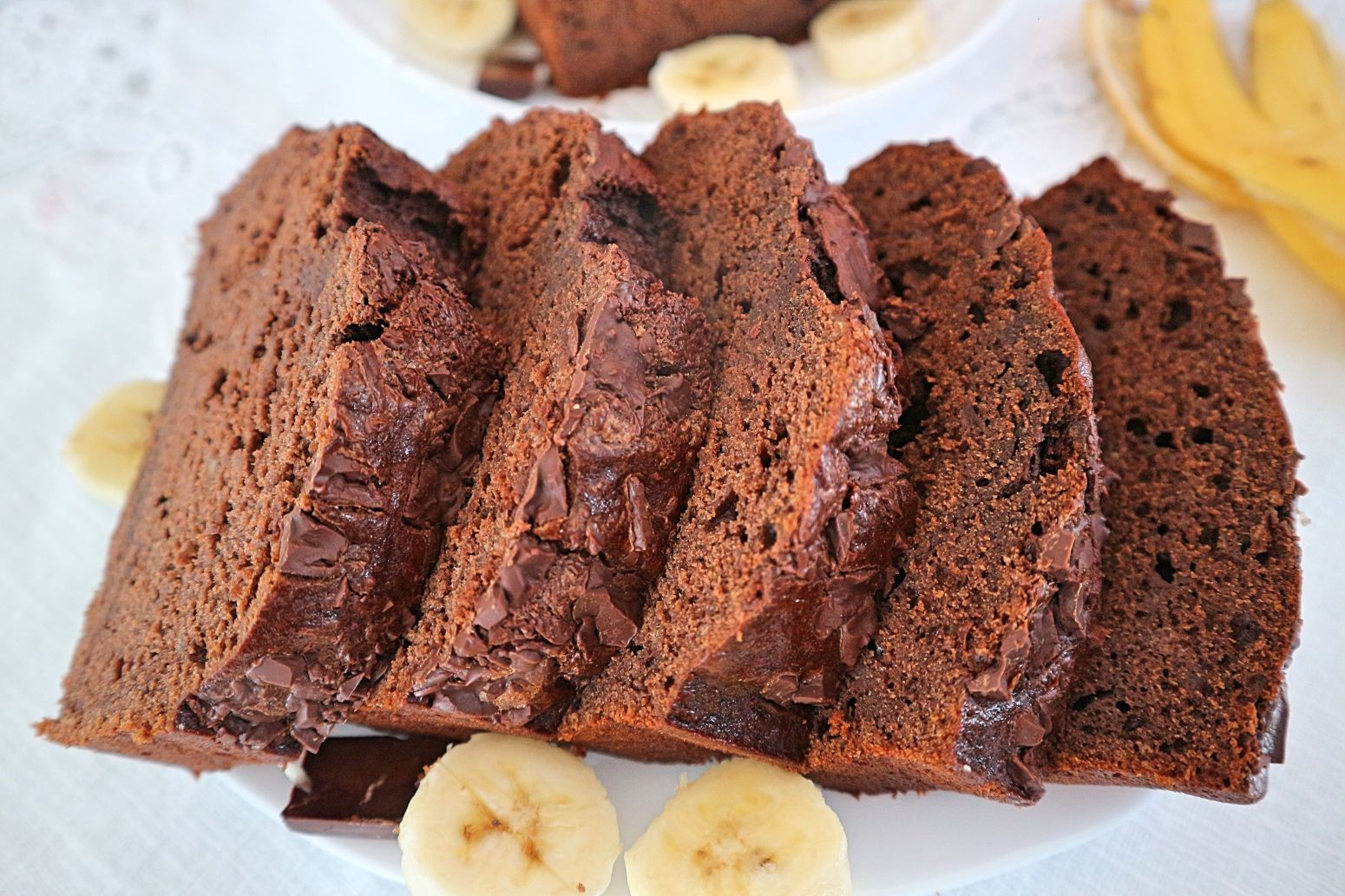 Schoko-Bananen-Kuchen: Rezept für saftigen Schokokuchen mit Bananen