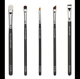 zoeva  makeup artist brush belt set  juego de brochas de