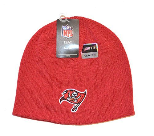 Tampa Bay Buccaneers ChildKids Red Cuffless Beanie Hat Youth NFL Knit Skull  Cap     51214540ce5
