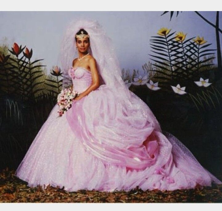 Coming To America Pink Wedding Dress Fairy Tale Wedding Dress Movie Wedding Dresses Princess Wedding Dresses,Bride Wedding Reception Dress Best Bridal Reception Dresses